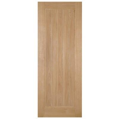 Deanta Internal Oak Ely Prefinished 5 Panel Door