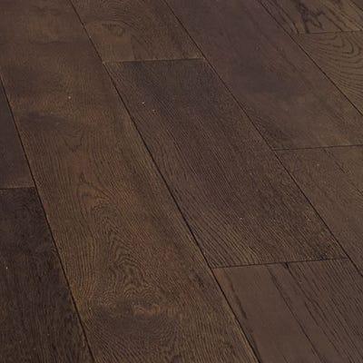 Sample of 18 x 189mm Coffee Oak Oiled Engineered Wood Flooring