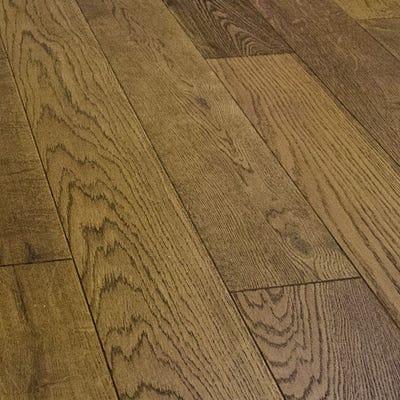 Sample of 18 x 189mm Nutmeg Oak Oiled Engineered Wood Flooring