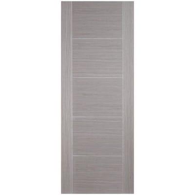 LPD Internal Light Grey Vancouver 5 Panel Prefinished Door