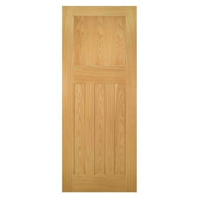 Deanta Internal Oak Cambridge DX FD30 Fire Door