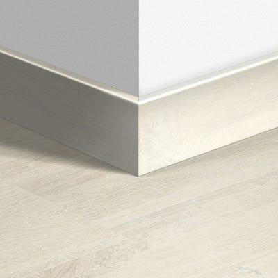 Quick Step Charlotte Oak White Parquet Skirting 14 x 77 x 2400mm Design QS3178