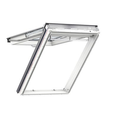 VELUX GPL UK04 2070 1340 x 980mm White Painted Laminated Top Hung Roof Window
