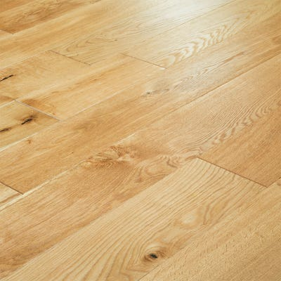 18 x 150mm Oak Brushed and Oiled T&G Engineered Wood Flooring