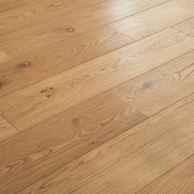 14 x 190mm Oak Brushed and Oiled T&G Engineered Wood Flooring