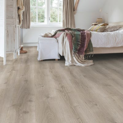 Quick Step Majestic MJ3552 Desert Oak Brushed Grey Laminate Flooring