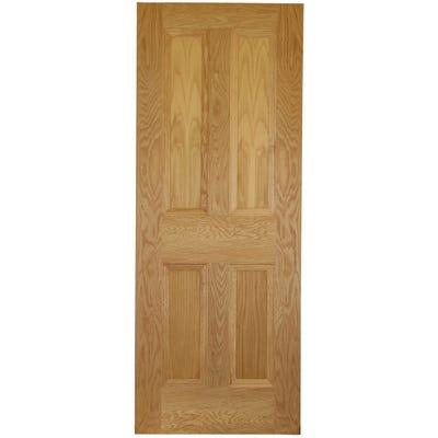 Deanta Internal Oak Kingston 4 Panel Door