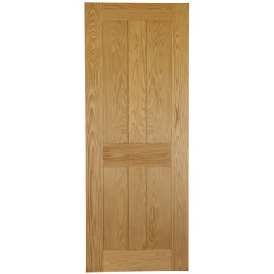 Deanta Internal Oak Eton Shaker 4 Panel Door