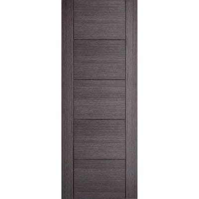 LPD Internal Ash Grey Vancouver 5 Panel Prefinished Door
