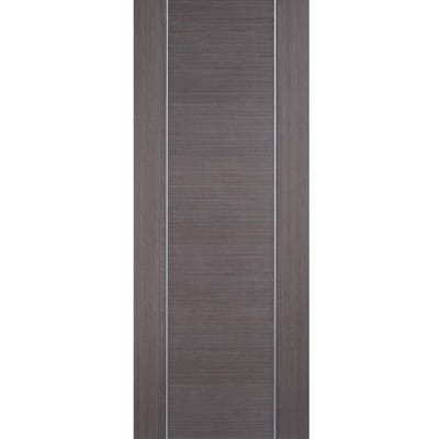 LPD Internal Chocolate Grey Alcaraz Prefinished FD30 Fire Door