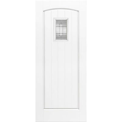 LPD External Composite/GRP Cottage 1L White Glazed Door