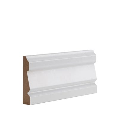 Deanta Internal White Primed Ulysses Architrave 90 x 18 x 2100mm