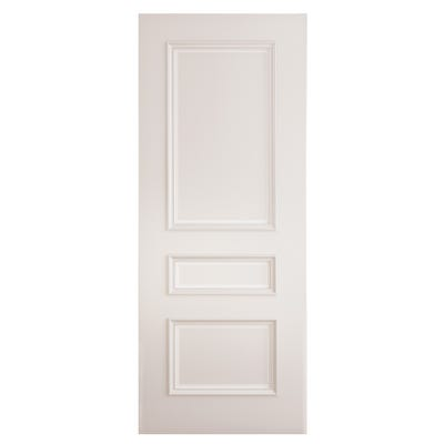 Deanta Internal White Primed Windsor 3 Panel FD30 Fire Door