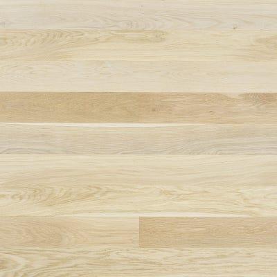 Elka 12.5 x 145mm Double White Oak Brushed & Matt Lacquered Engineered Wood Flooring