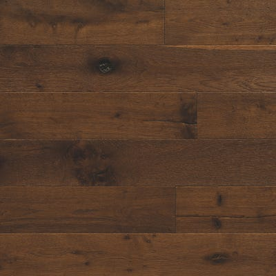 Elka 20 x 189mm Copper Oak Smoked Lacquered Engineered Wood Flooring