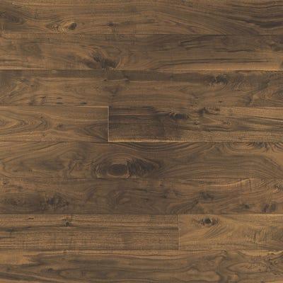 Elka 18 x 150mm American Black Walnut Lacquered Engineered Wood Flooring