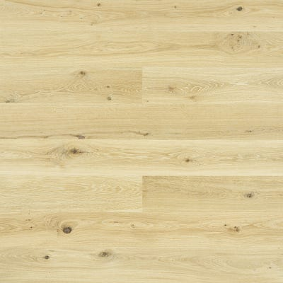 Elka 14 x 190mm Champagne Oak Brushed and Oiled Engineered Wood Flooring