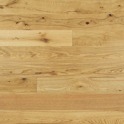 Elka 14 x 190mm Rustic Oak Lacquered Engineered Wood Flooring ELKA14LROAKUC