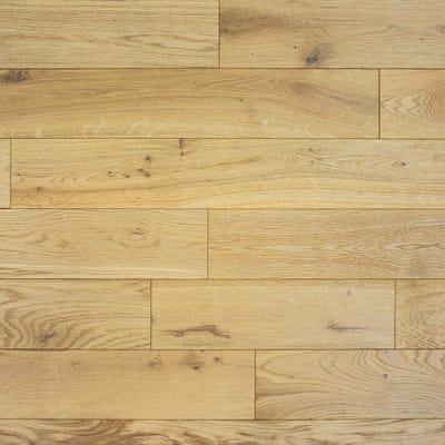 Elka 18 x 150mm Enhanced Oak Satin Lacquered Engineered Wood Flooring