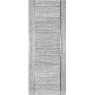 Deanta Internal Light Grey Ash Montreal 6 Panel Prefinished FD30 Fire Door