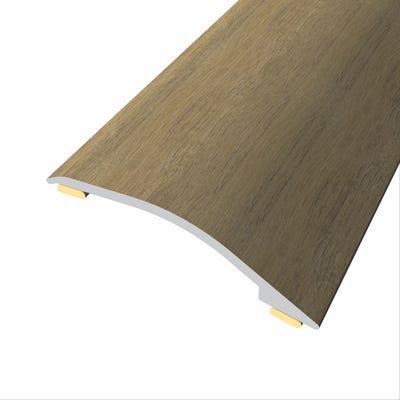 Laminate Stickdown Threshold Adjustable Ramp 3-12mm Country Oak 2.7m