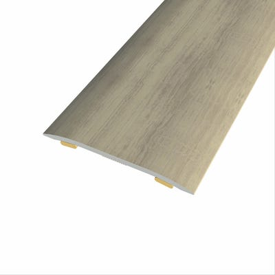 Laminate Stickdown Threshold Coverstrip Sherwood Oak 0.9m