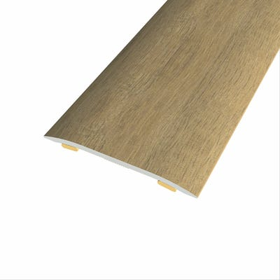 Laminate Stickdown Threshold Coverstrip Country Oak 2.7m