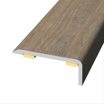 Laminate Stickdown Threshold End Section Kolberg Oak 2.7m