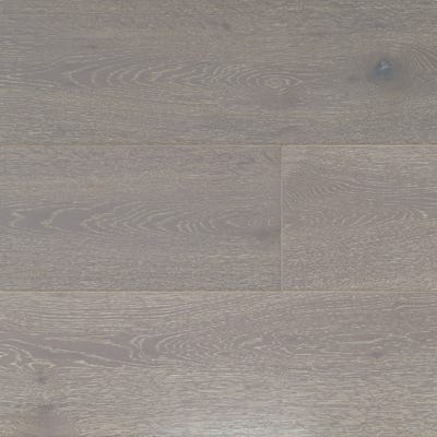 14 x 190mm Mineral Grey Oak Brushed and Matt Lacquered T&G Engineered Wood Flooring