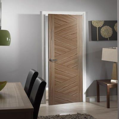 LPD Internal Walnut Zeus Prefinished FD30 Fire Door
