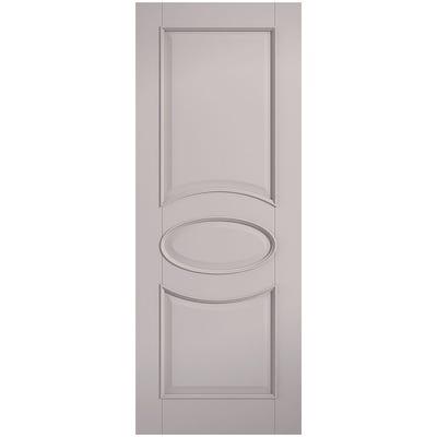 LPD Internal Grey Versailles 2 Panel Door