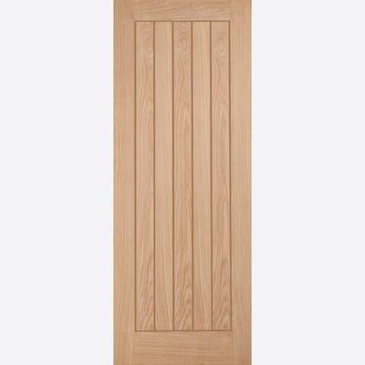 LPD Internal Oak Belize 5 Panel FD30 Fire Door