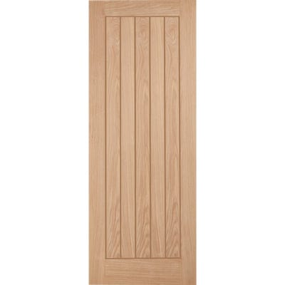 LPD Internal Oak Belize 5 Panel FD30 Fire Door