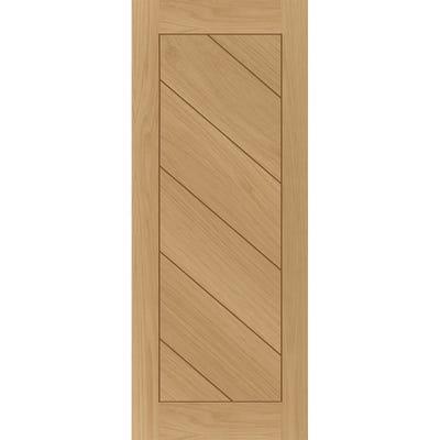 Deanta Internal Oak Torino 6 Panel Prefinished FD30 Fire Door