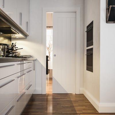 Deanta Single Pocket Door System 2044 x 826 x 100mm