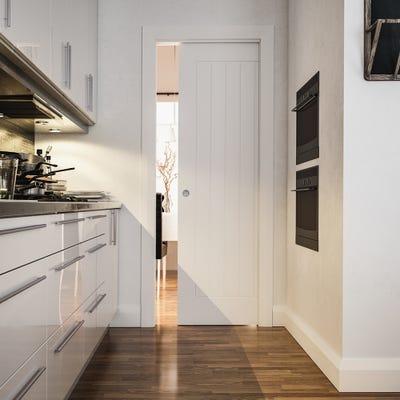 Deanta Single Pocket Door System 2044 x 826 x 125mm