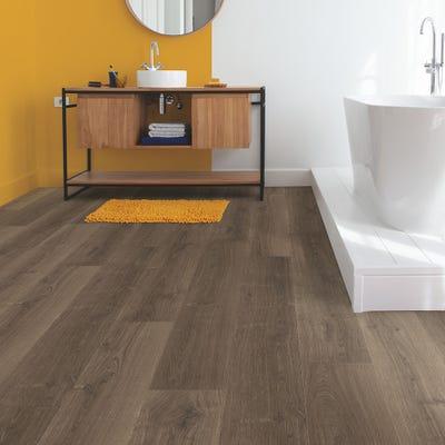 Quick Step Signature SIG4766 Brushed Oak Brown Laminate Flooring