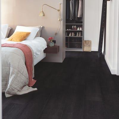 Quick Step Signature SIG4755 Painted Oak Black Laminate Flooring