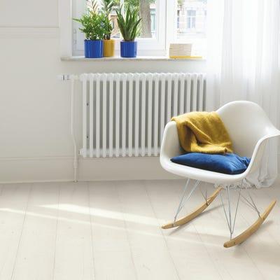 Quick Step Signature SIG4753 Painted Oak White Laminate Flooring