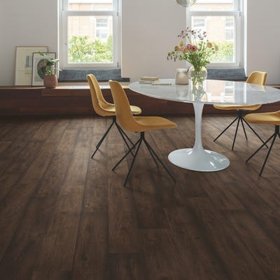 Quick Step Signature SIG4756 Waxed Oak Brown Laminate Flooring