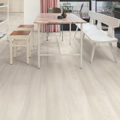 Quick Step Signature SIG4757 White Premium Oak Laminate Flooring