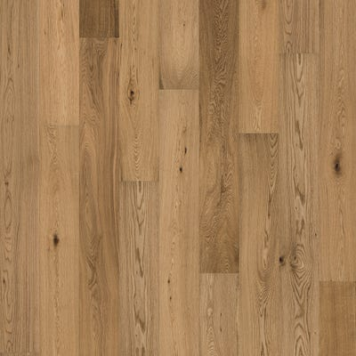Crown by Kahrs City Oak 14 x 190mm Satin Lacquered Click Engineered Wood Flooring