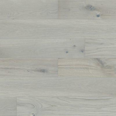 14 x 130mm Brushed Matt Lacquered Silver Oak 5G LOC Engineered Wood Flooring