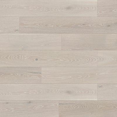 14 x 180mm Brushed Matt Lacquered Clay Grey Oak 5G LOC Engineered Wood Flooring