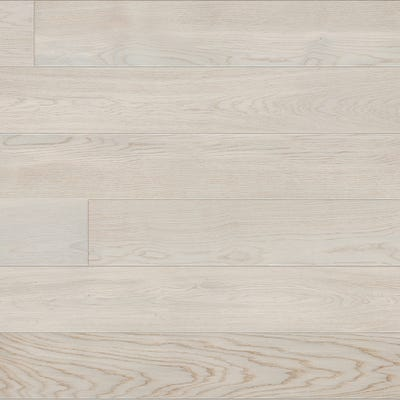 14 x 180mm Brushed Matt Lacquered Planked White Oak 5G LOC Engineered Wood Flooring