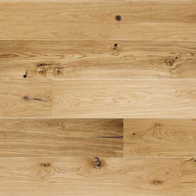 14 x 207mm Brushed Matt Lacquered Oak 5G LOC Engineered Wood Flooring