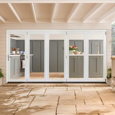 Bedgebury White Folding Patio Doorset 3.6m