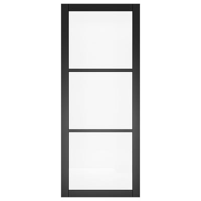 Deanta Internal Camden Black Prefinished Glazed Door