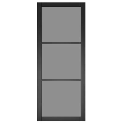 Deanta Internal Camden Black Prefinished Tinted Glazed Door