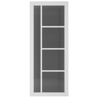 Deanta Internal Brixton White Primed Tinted Glazed Door